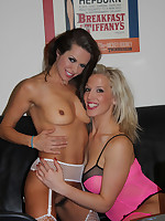Becs has a lot of fun with her filthy lesbian friend